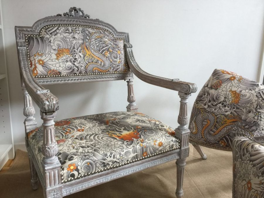 Patine de meuble Louis XVI